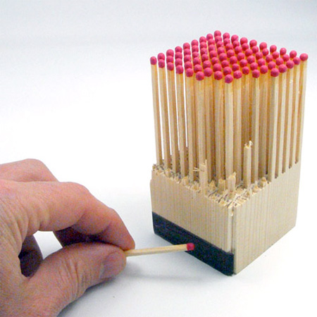 Matches Designed by Fitzsu