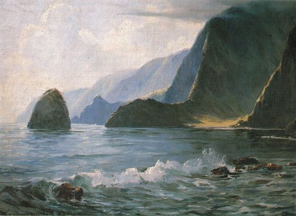 """Under the Cliffs of Molokai"" by D. Howard Hitchcock"