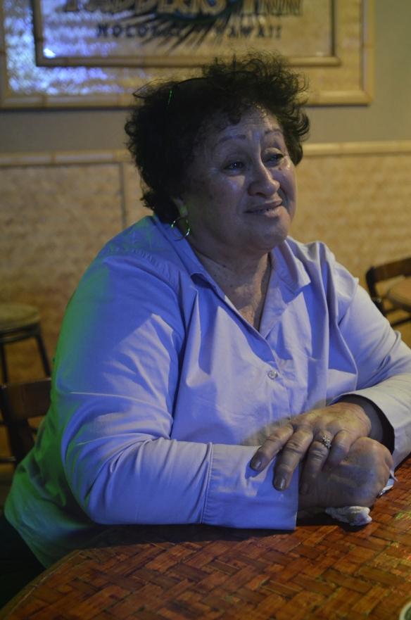 Auntie Opu'ulani.
