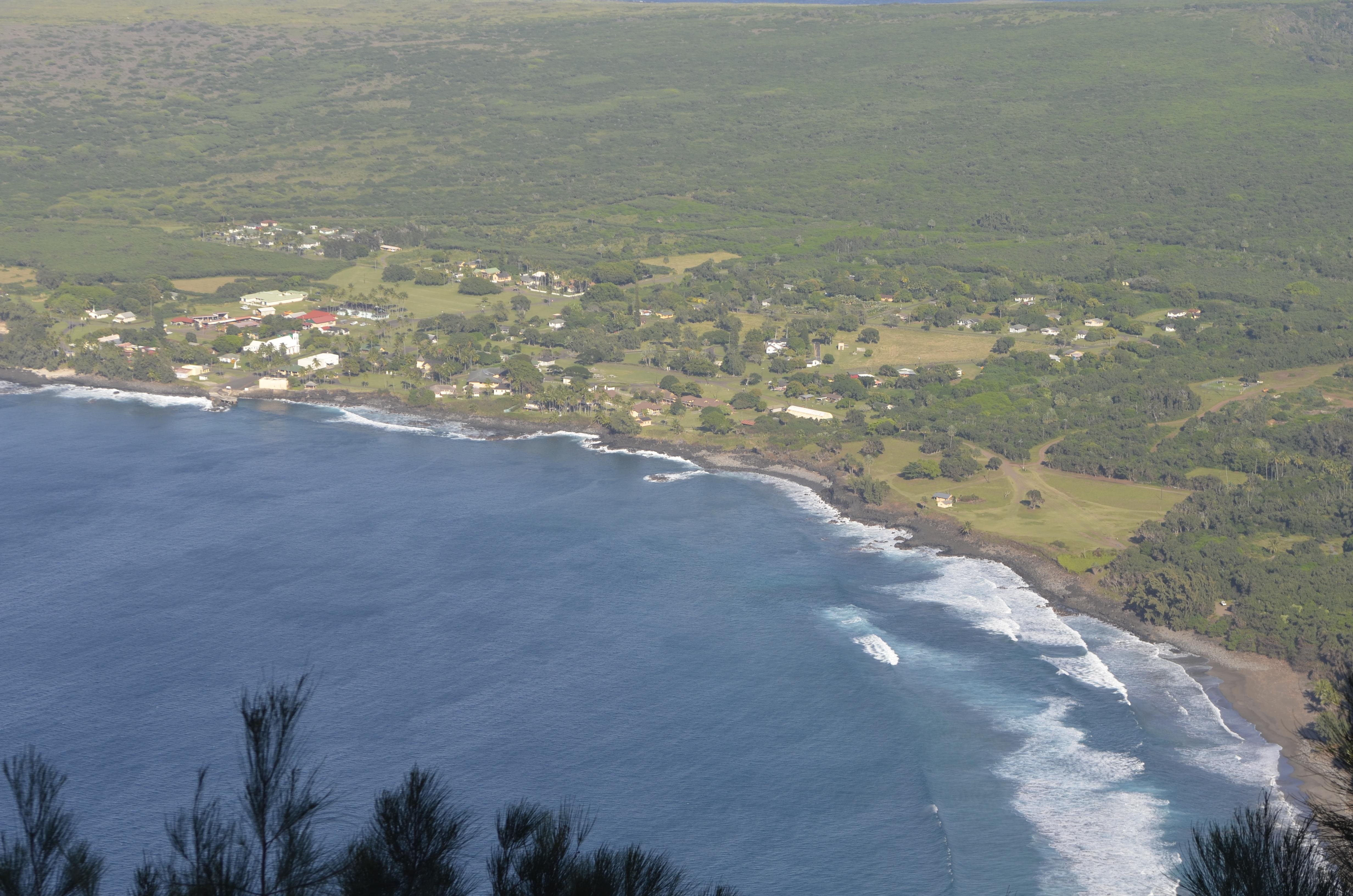 My view of Kaulapapa.