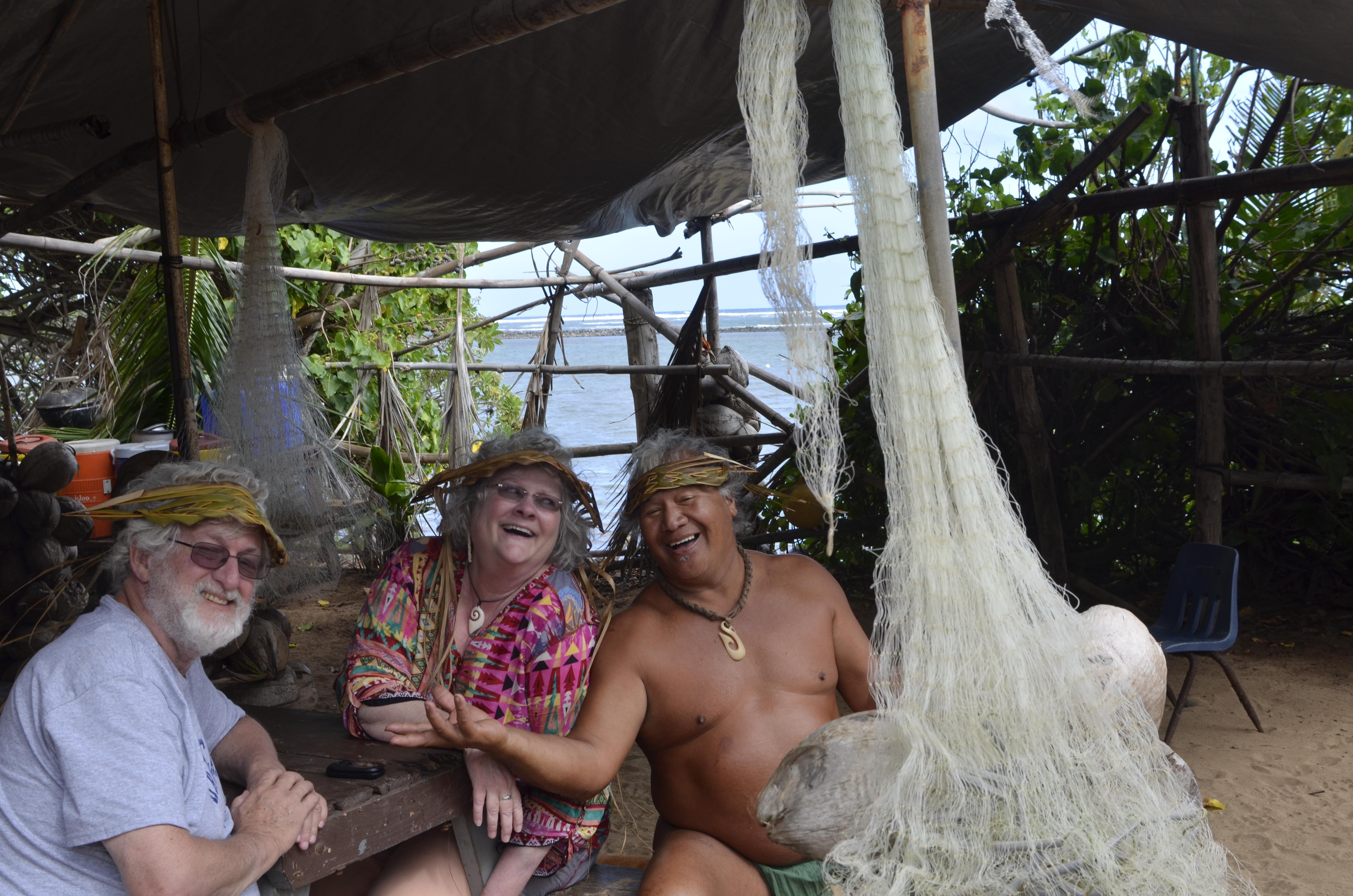 Tom, me, and Lei-mana.