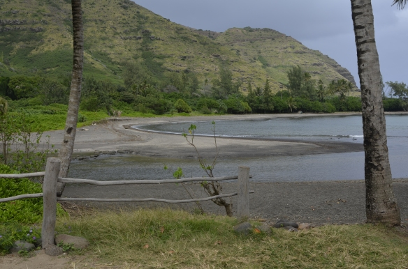 Beach at Halawa Valley.