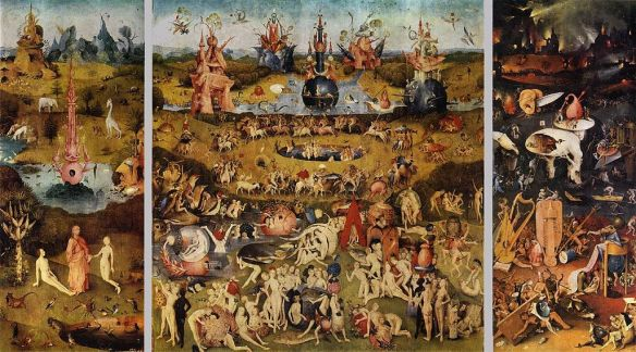 """Garden of Earthly Delights"" triptych by Hieronymous Bosch"
