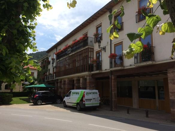 Echaurren, our hotel in Ezcaray