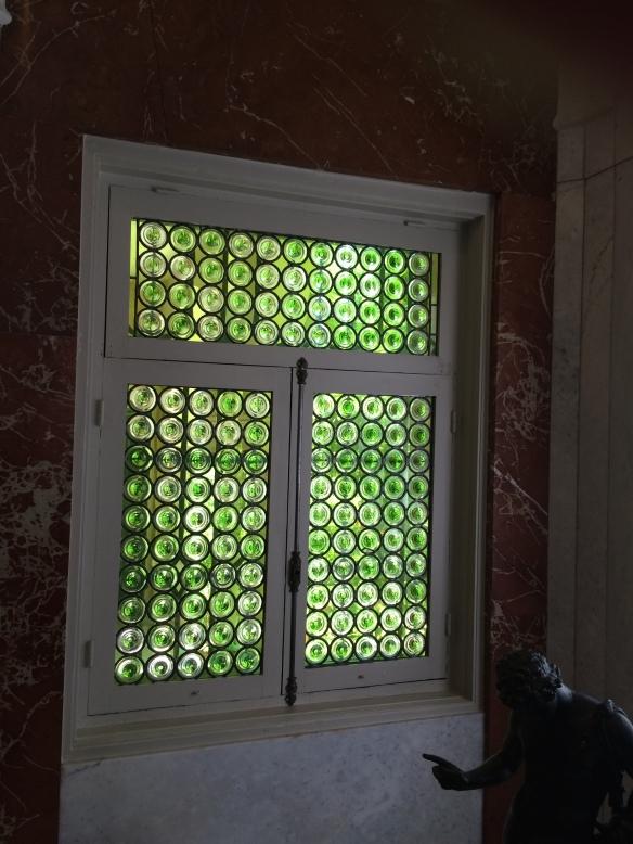 Bottle Glass Window, Sorolla Museum