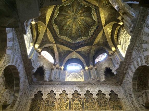 Ceiling, La Mezquita, Cordoba