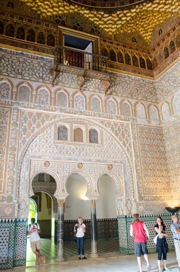 Hall of Ambassadors, Alcazar, Seville