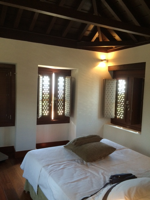 Our bedroom at the Parador de Granada