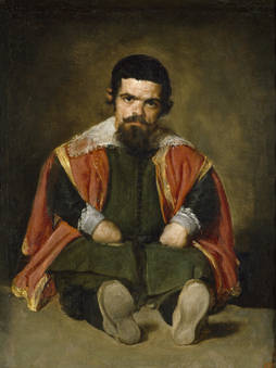 """Sebastien de Mora"" by Velasquez"