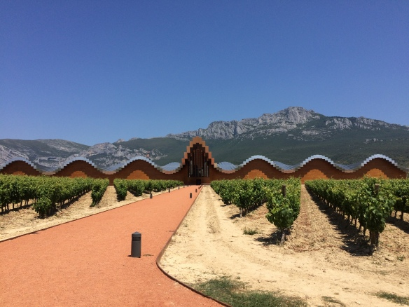 Ysios Winery. If they had had a tour, I would be able to tell you who the architect was.
