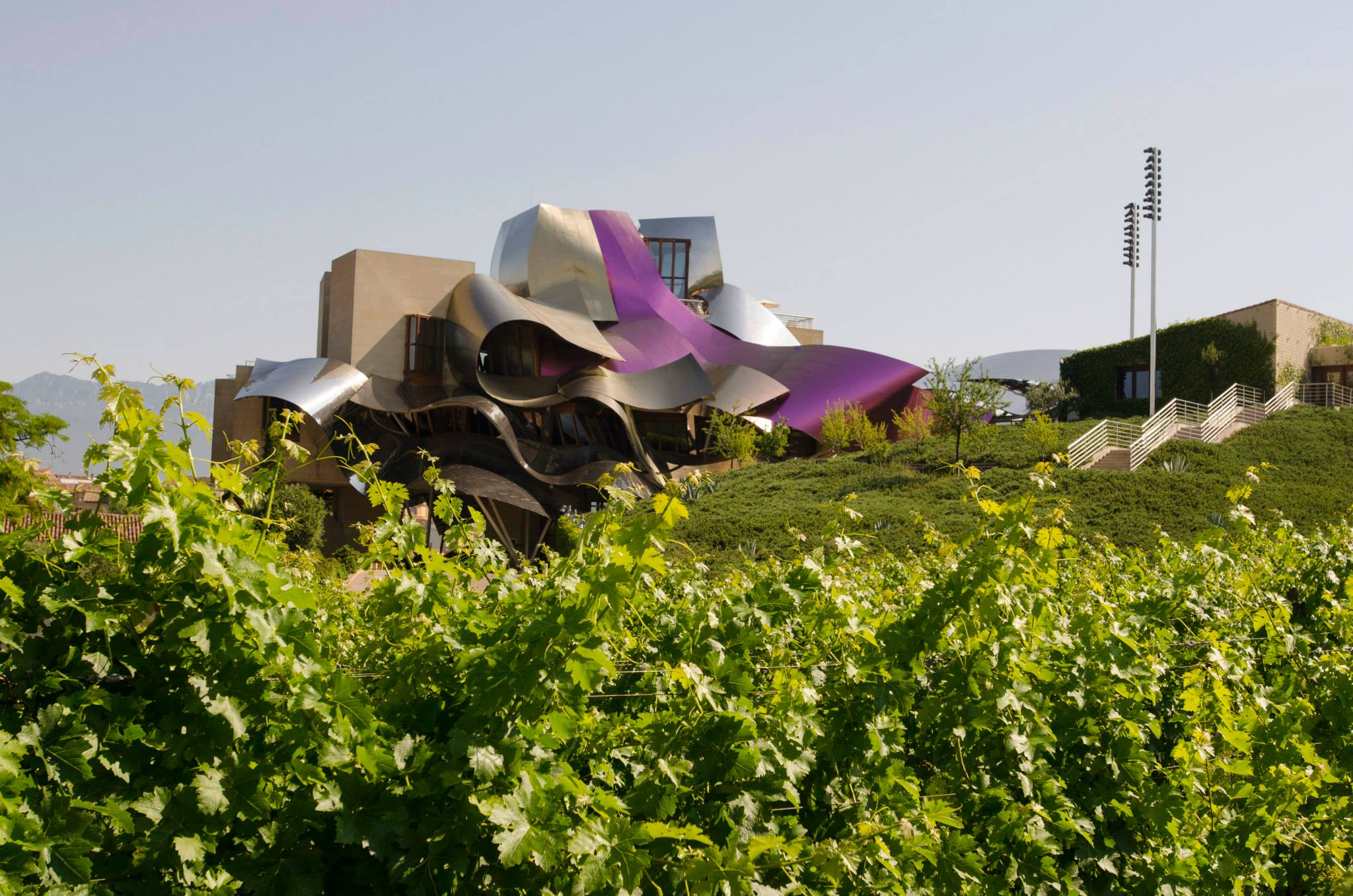 Marquis de Riscal winery, designed by Frank Gehry