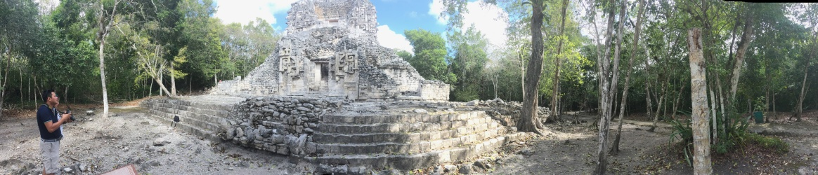 Temple at Chicaana